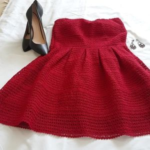 Julio Red party dress